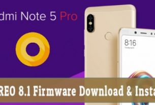 Install Android Oreo Update On Redmi Note 5 Pro