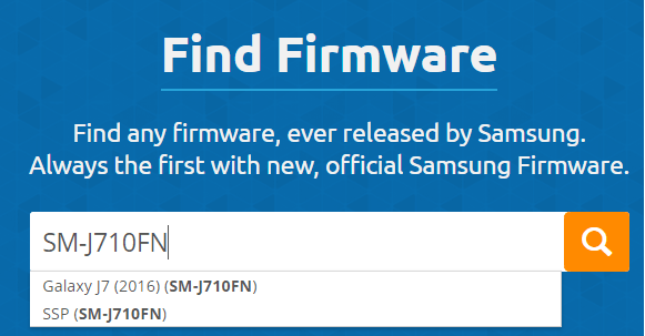 How To Download Samsung firmware From SAMMobile [Official