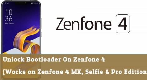 Unlock Bootloader On Zenfone 4