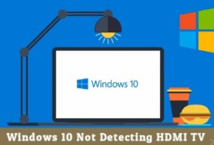 Windows 10 Not Detecting HDMI TV