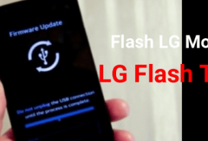 Flash LG Firmware Using LG Flash Tool