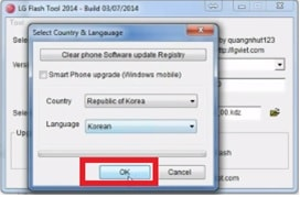 How To Flash LG Firmware Using LG Flash Tool [KDZ & TOT