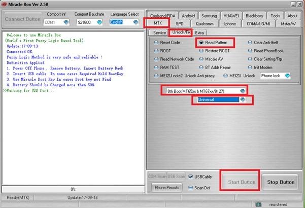 Oppo F1s Pattern Unlock Without Losing Data [Unlock Oppo