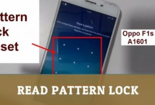 Oppo F1s Pattern Unlock Without Losing Data