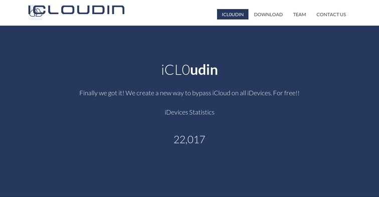 icloudin icloud bypass tool