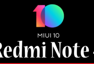 Install MIUI 10 on Redmi Note 4
