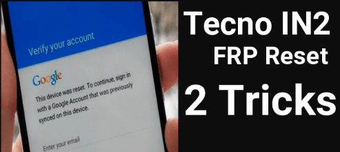 Tecno In2 FRP Remove