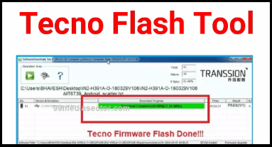 Download Tecno Flash Tool - Guide To Flash Firmware On Tecno Phones