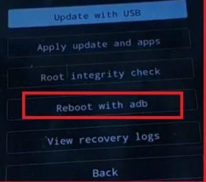vivo reboot with adb