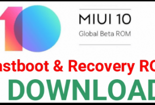 MIUI 10 Global Beta ROM Download