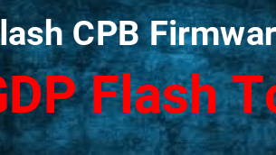 Flash CPB Firmware Using QGDP Tool