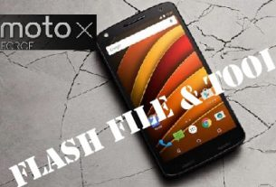 Flash Moto X Force XT1580