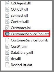 customer service tool setup