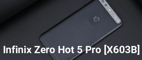 How To Flash Stock Rom On Infinix Zero 5 Pro X603B & Infinix Zero 5