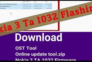 Flash Nokia 3 TA 1032