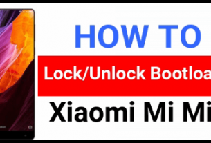 Xiaomi Mi Mix Unlock Bootloader