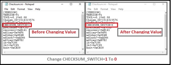 Solve: How To Fix image preloader checksum failed In Sp