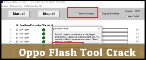 Download Oppo Flash Tool 2018 With Activation File - 99Media Sector