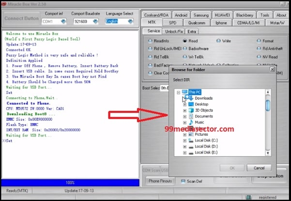 How To Create Scatter Firmware For MTK Devices Using Miracle Tool
