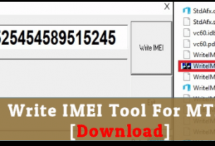 Download Write IMEI Tool