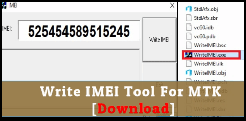 Download Write IMEI Tool [ MTK IMEI Repair Tool ] - 99Media Sector