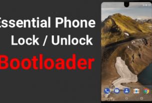 Unlock Bootloader Of Essential Phone