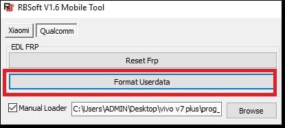 Remove Screen Lock & VIVO V7 Plus FRP Bypass (1716) using