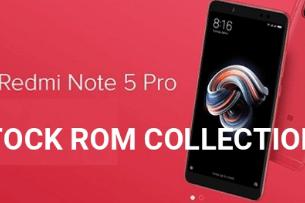 Redmi Note 5 Pro Stock ROM Firmware