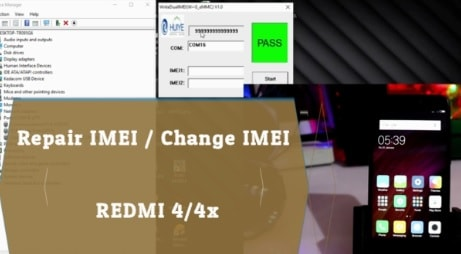 How To Repair IMEI Of Redmi 4 / Redmi 4x [No Root] [Fix Null