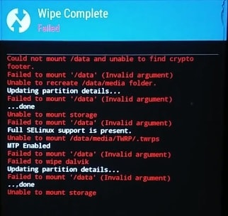 100% fix - Unable To Mount Storage TWRP | Internal Storage 0 MB