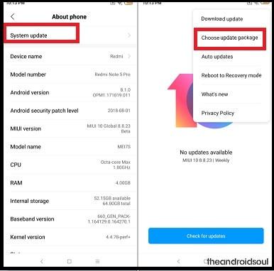 Redmi Note 5 Pro Stock ROM Firmware Collection [MIUI 10