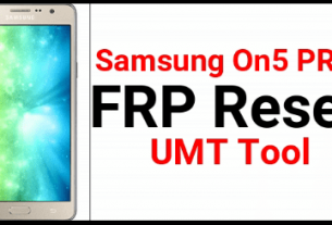 Samsung On5 Pro FRP Remove using UMT