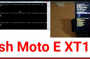 Moto E XT1022 Flash File