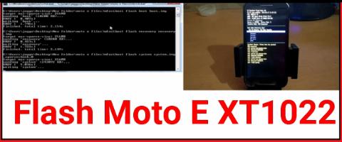 Moto E XT1022 Flash File