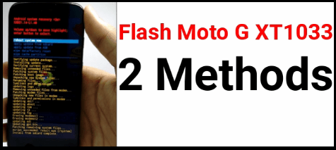 Moto xt1033 Flash File