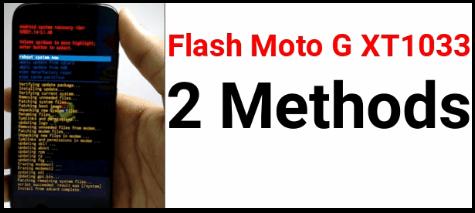 Moto xt1033 Flash File