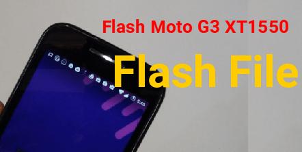 Moto G3 XT1550 Flash File