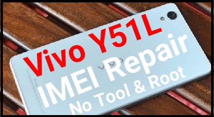 Vivo Y51L IMEI Repair