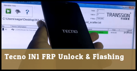 Teno In1 FRP Unlock / Flash Stock ROM With Flash Tool - 99Media Sector