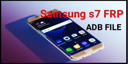Samsung Galaxy s7 FRP Unlock