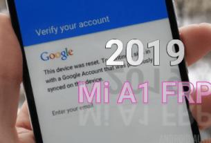Xiaomi Mi A1 FRP Unlock