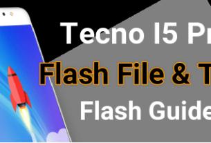 Tecno I5 Pro Flash File