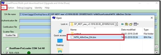 Flash lava Z61 Stock ROM  Flash File & Tool - 99Media Sector