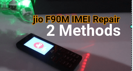Jio F90M IMEI Repair