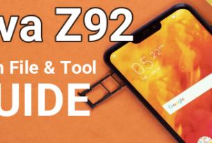 Lava Z92 Flash File