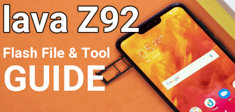 Lava Z92 Flash File