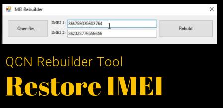 Download QCN Rebuilder Tool