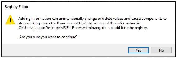 how to run msi file as administrator in windows 10    7  8