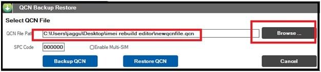 Download QCN Rebuilder Tool For IMEI Restore [ Latest Version