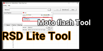 Motorola Flash Tool RSD Lite To Flash Motorola Stock ROM [ How To
